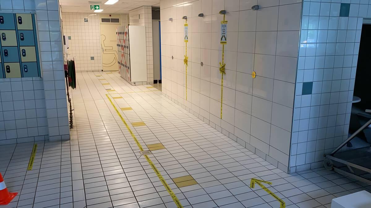 Douches weer beperkt geopend