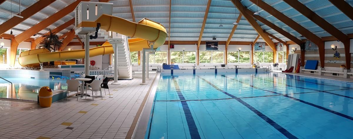 Recreatief zwemmen in het Molenduinbad Norg
