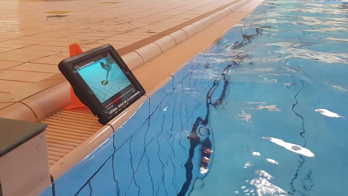Molenduinbad Norg gaat pilot online zwemles draaien