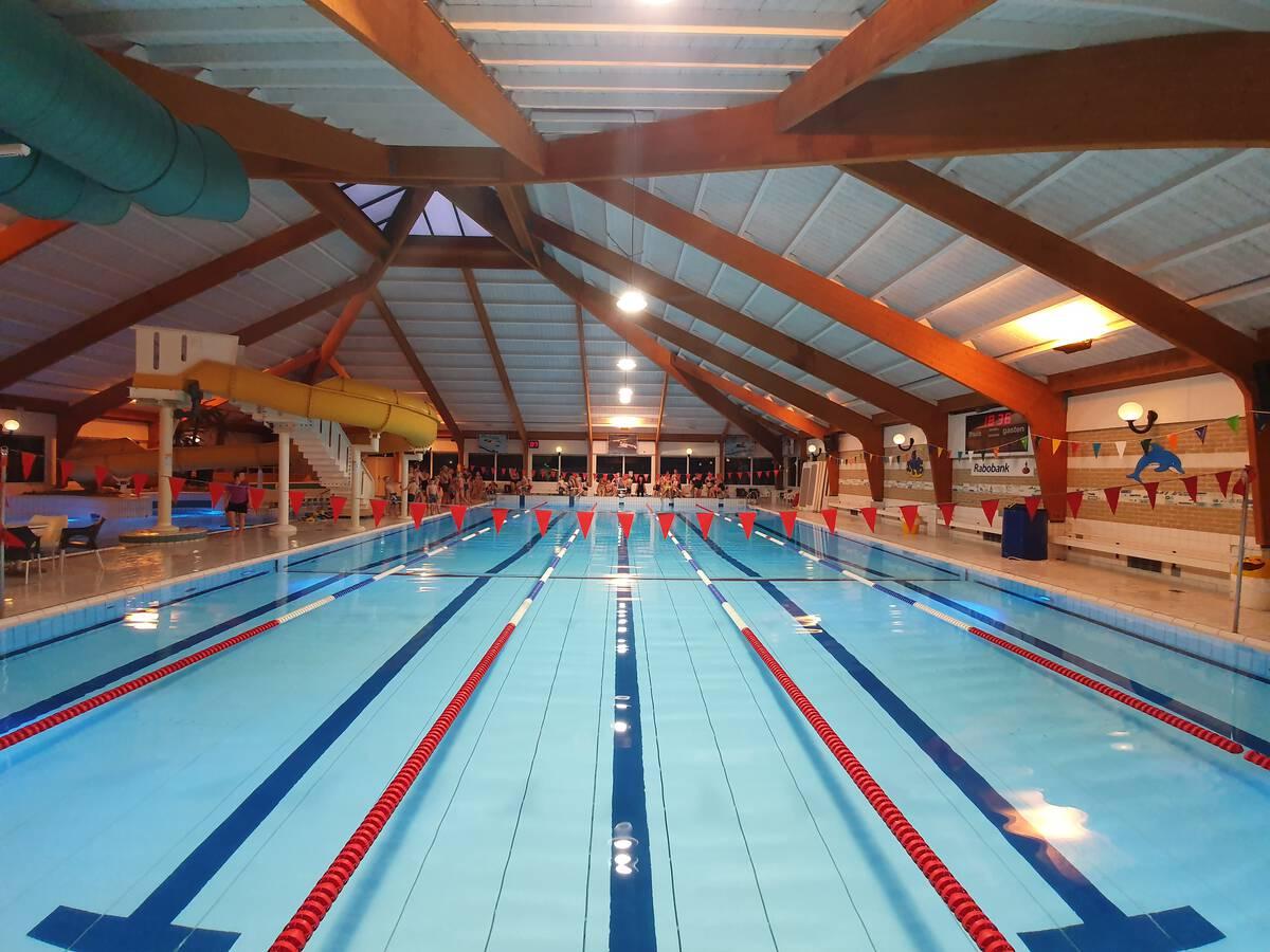 Banenzwemmen vanaf 6 juli een uur!