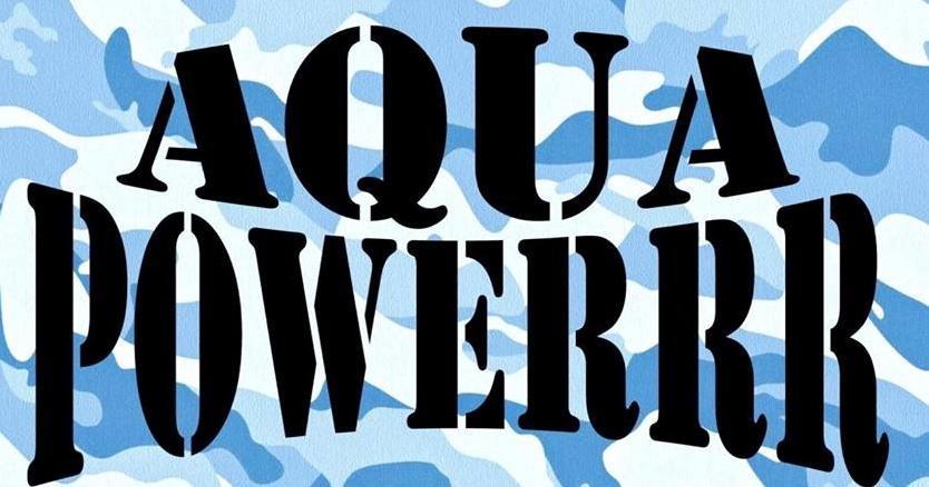 Aquapowerrr voor mensen die tegen een stootje kunnen