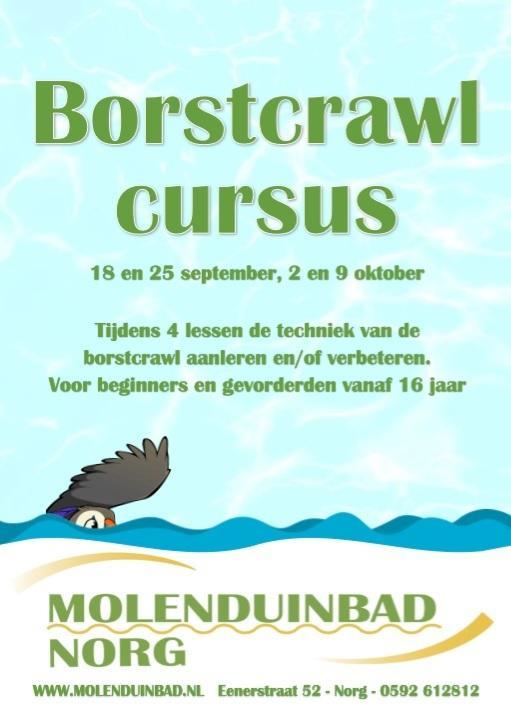 Borstcrawl cursus