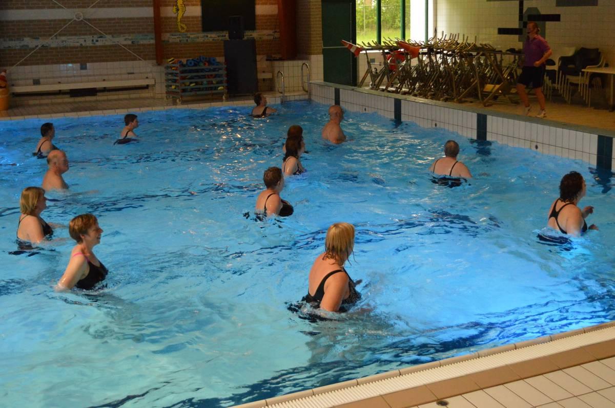 Aquarobic in het Molenduinbad Norg