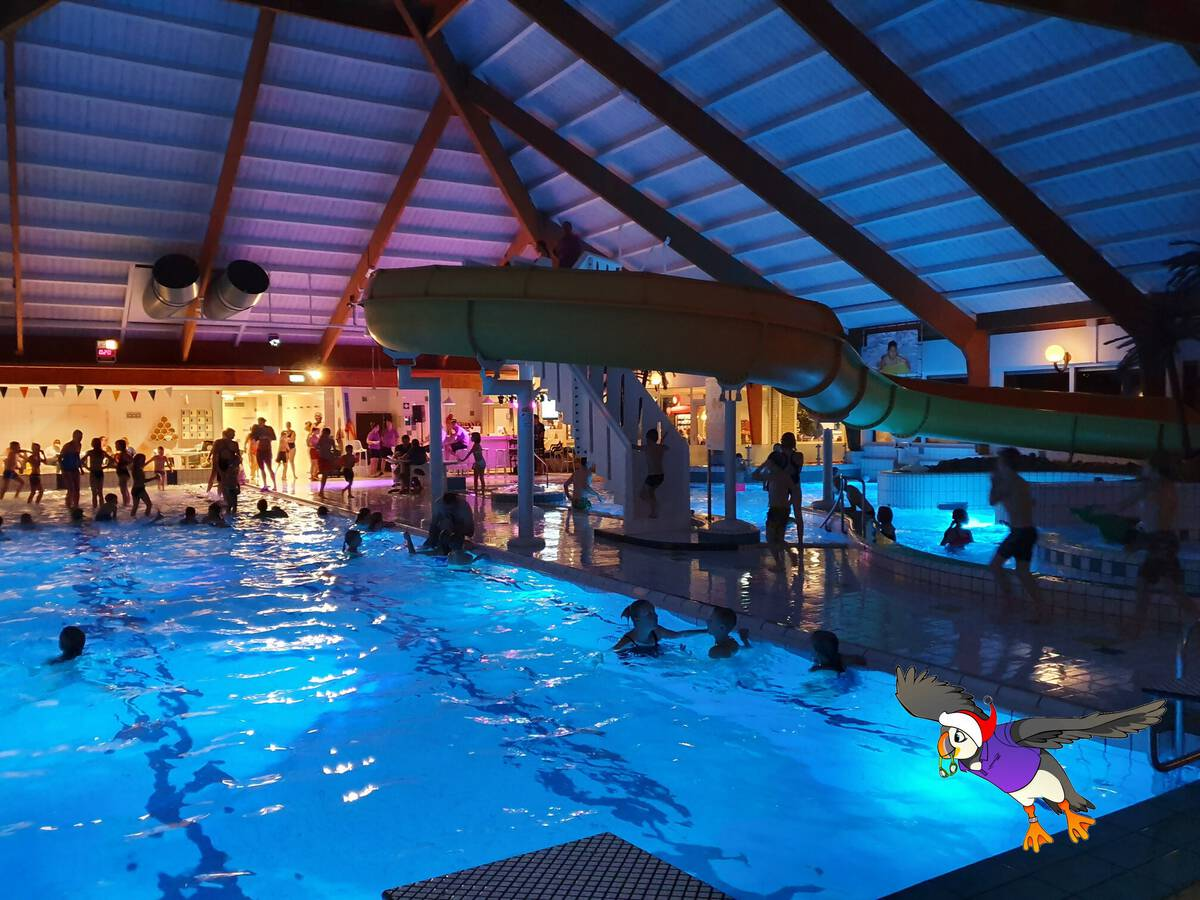 Zwemfeestje vieren in het Molenduinbad Norg