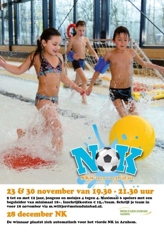 Voorrondes NK watervoetbal