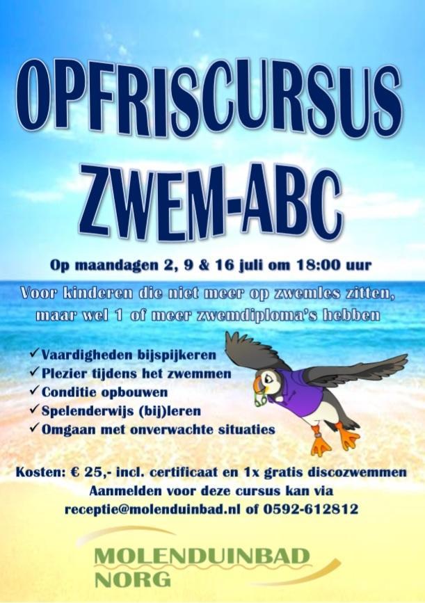 Opfriscursus Zwem-ABC