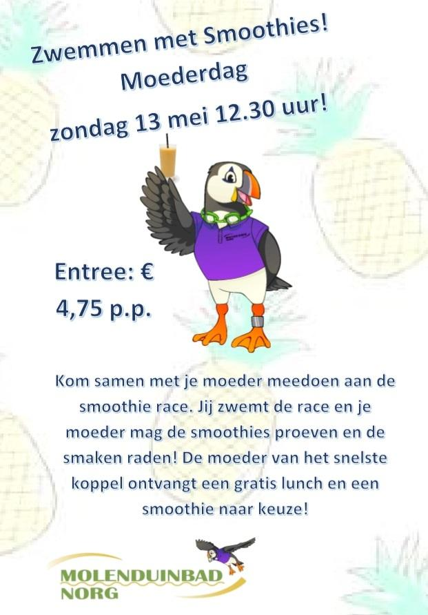 Smoothie-race, win een gratis lunch!