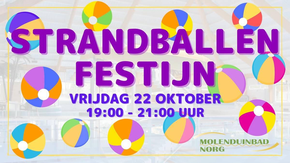 Strandballen festijn 22 oktober
